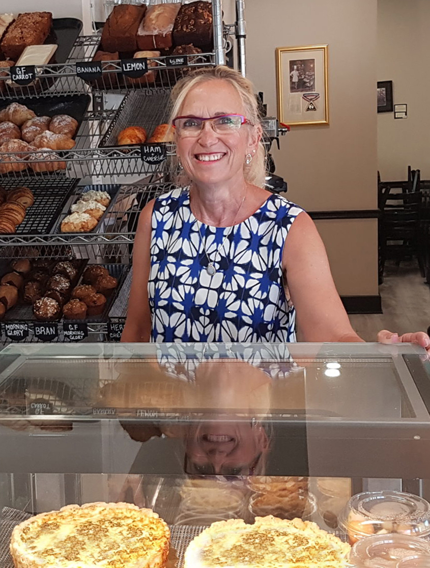 Catherine O'Donnell at Willow Cakes & Pastries