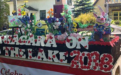 Canada Day Cake for Niagara-on-the-Lake