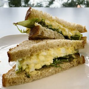 Willow Cakes Egg Salad Sandwich