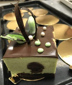 Gluten-Free Mint Mousse with Chocolate Silk