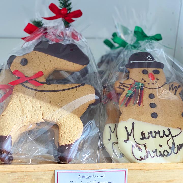 Seasonal Gingerbread Cookies